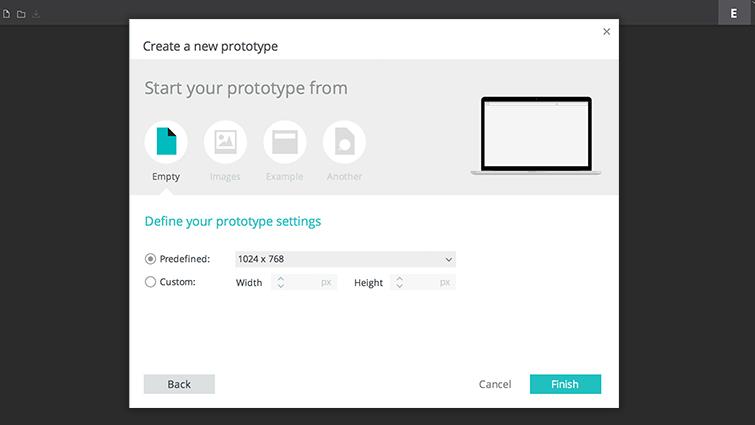 open new prototype