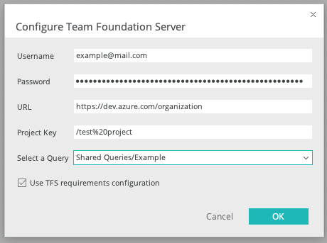 Integrate Justinmind with Microsoft Team Foundation Server