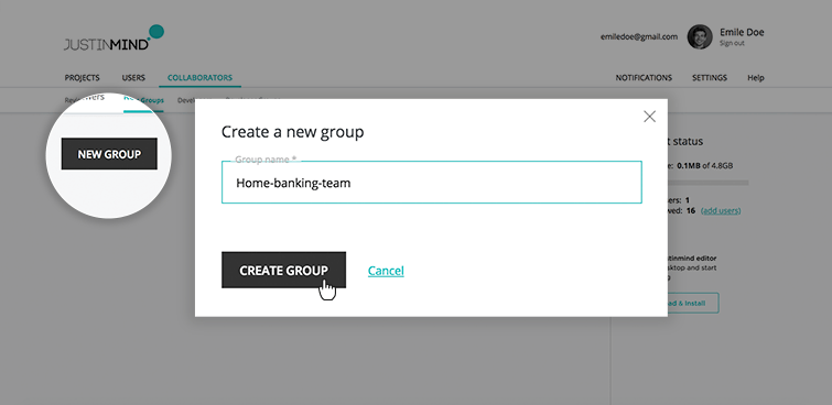 creating groups reviewers new
