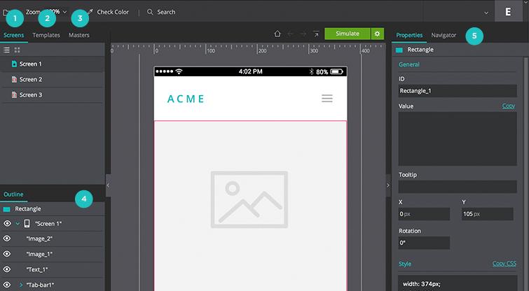 developer interface