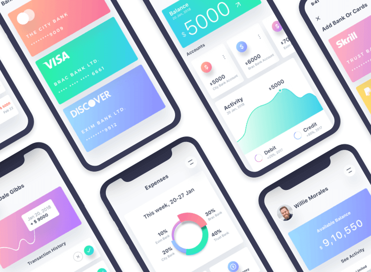10 iPhone app designs to inspire your next design