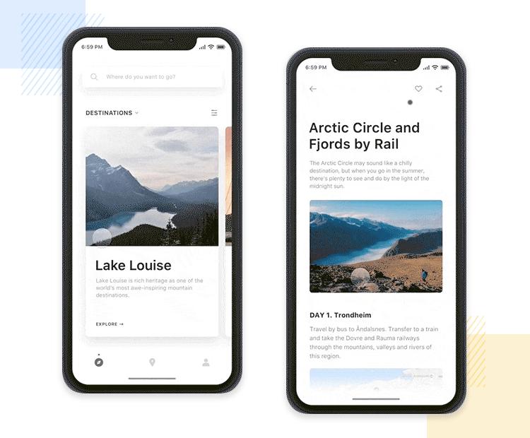 10 iPhone app designs to inspire your next design - Justinmind