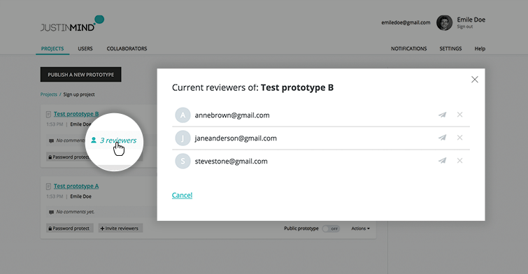 make reviewer a user