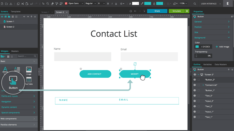 Create Interactive Forms Lists And Grids With Data Masters