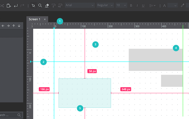 rulers guides grids
