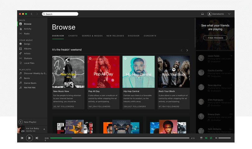 5-web-design-templates-spotify