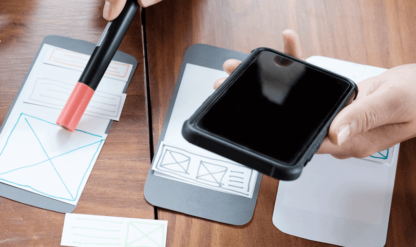 paper-prototyping-in-the-ux-design-process-mobile