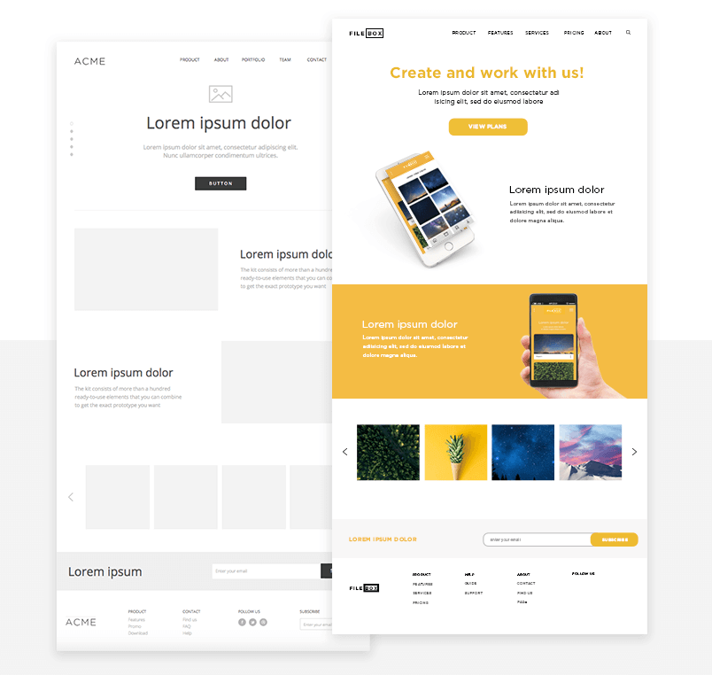 wireframe-tool-wireframe-ui-kit-customized