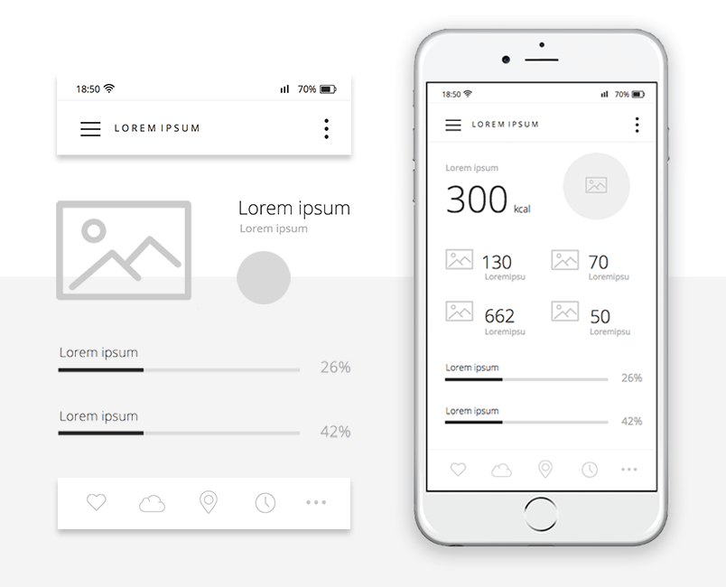 free-mobile-wireframing-ui-kit-dashboard