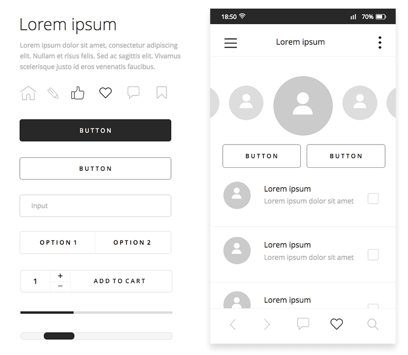 free-mobile-wireframing-ui-library-overview