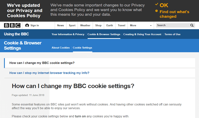 web-cookies-user-experience-bbc-top-header