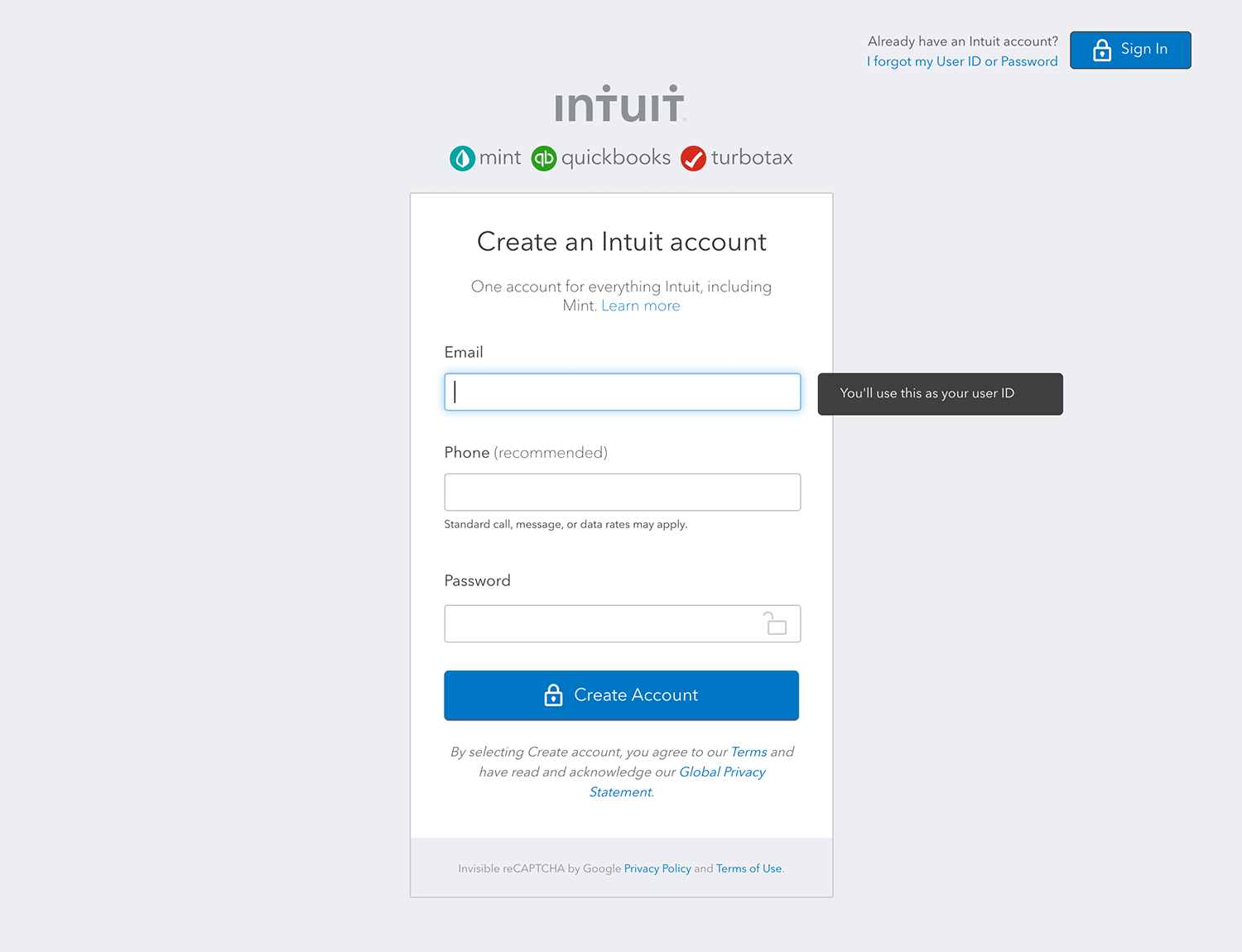 mint-sign-up-form