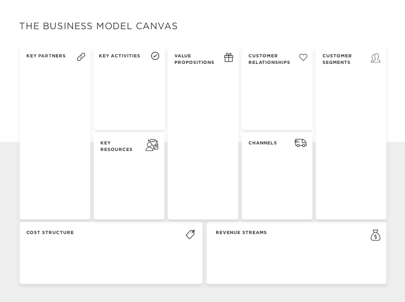 Business model canvas template business model canvas template flashek Image collections