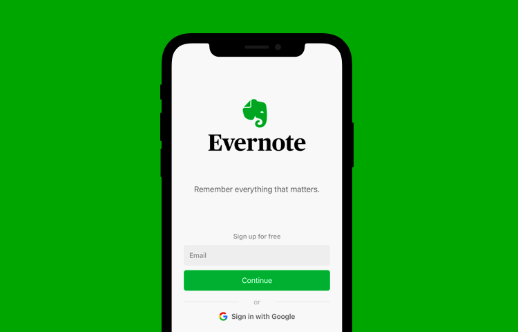 ux case study on evernote app