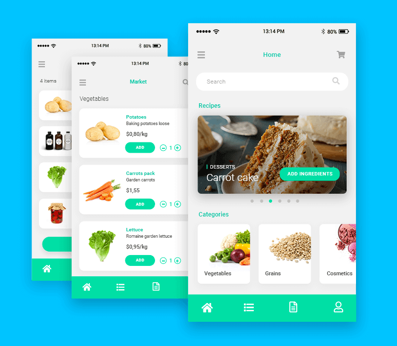 overview-of-grocery-app-design-ui