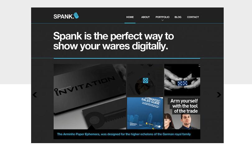 swiss-style-website-template