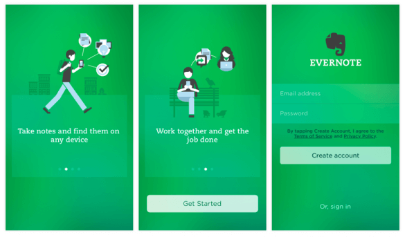 Custom illustrations for a better and consistent user onboarding flow