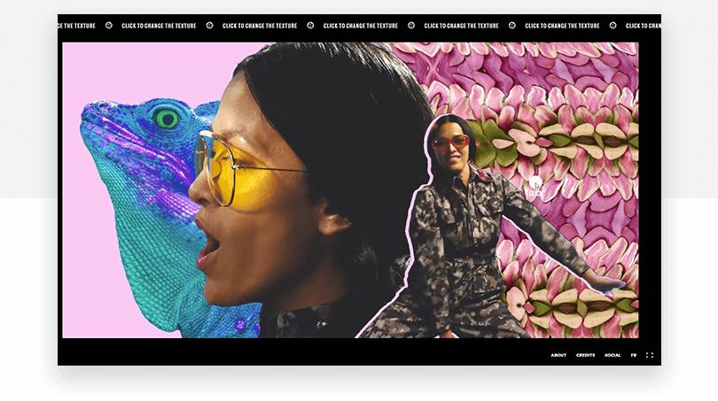 Mai Lan interactive video - web design trends 2019 - Justinmind