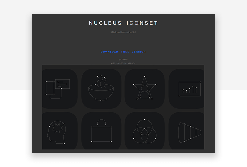 SVG vector icons - ultra modern and minimalist website icons for UX design