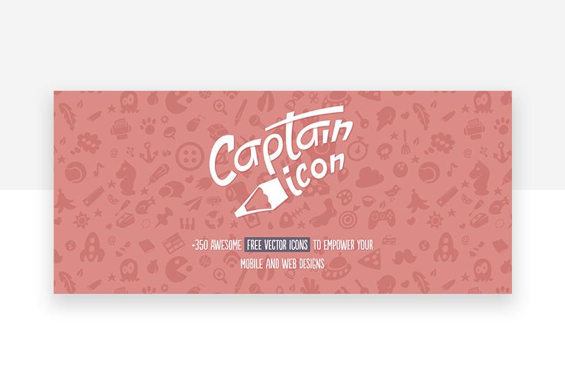 Captain icon - 50 free app design resources - Justinmind