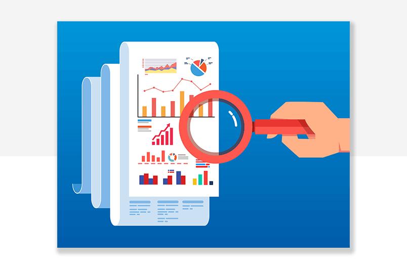 analysing data as review of enterprise UX process