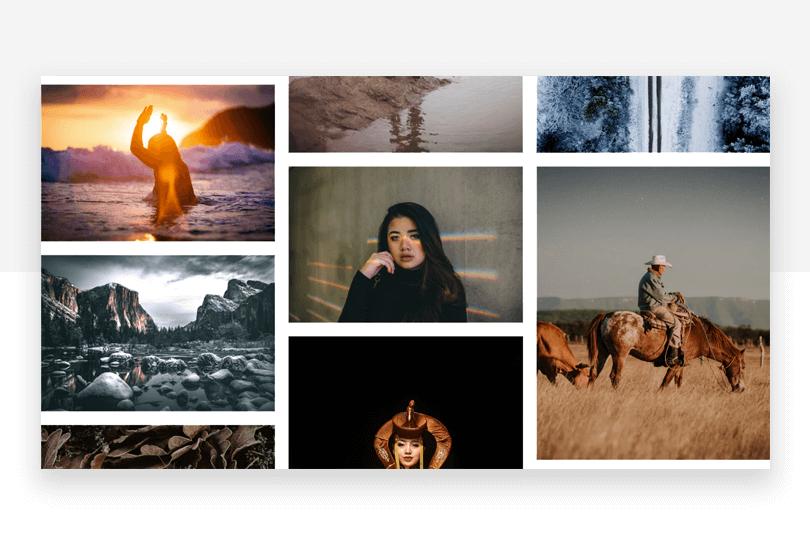 Unsplash - 50 free app design resources - Justinmind