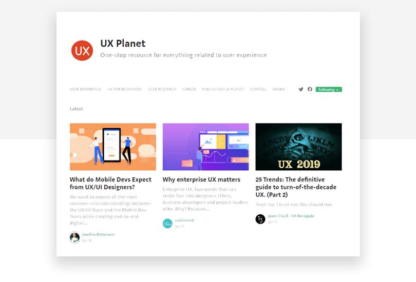 UX Planet - 50 free app design resources - Justinmind