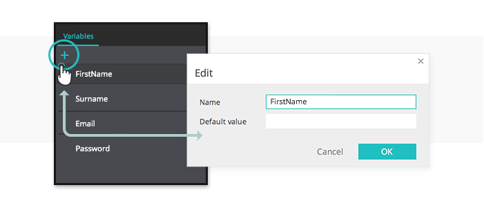 Add variable for validation