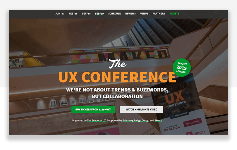 the ux conference in london england