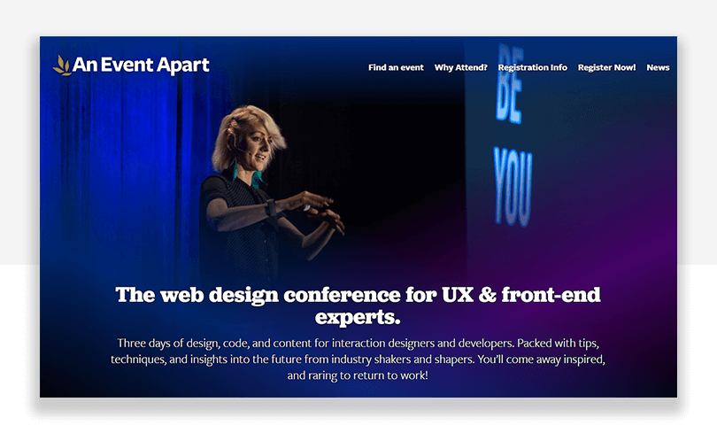 UX conference - an event apart - seattle, washington, chicago, denver and san francisco