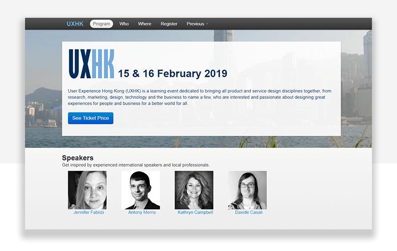 UX conference in hong kong - china