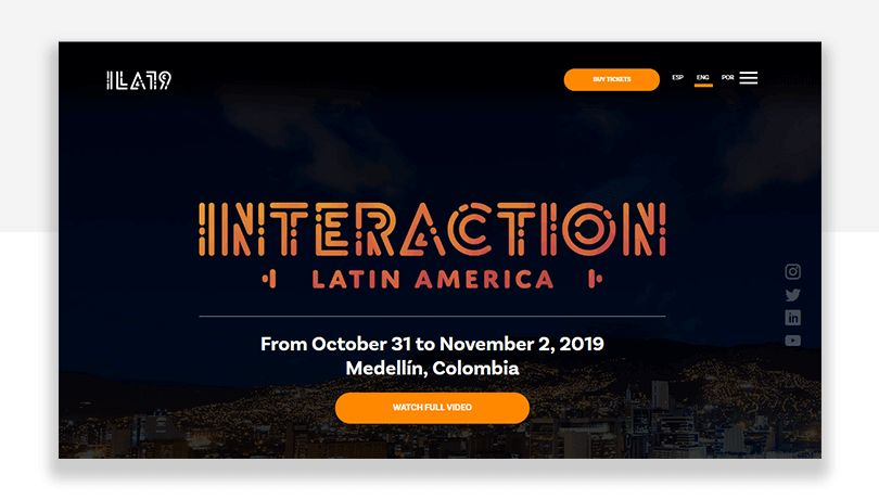 interaction latin america - ux conference in medellin colombia