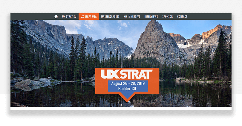 UX conference boulder colorado - UX STRAT