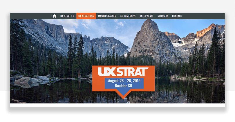 UX conference boulder colorado - UX STRAT