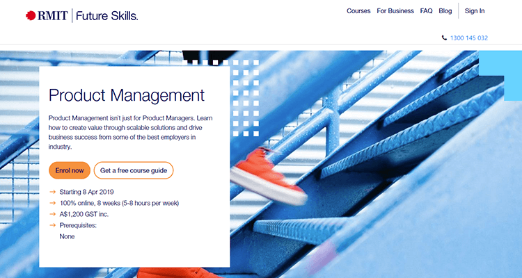 In-class product management course - Australia