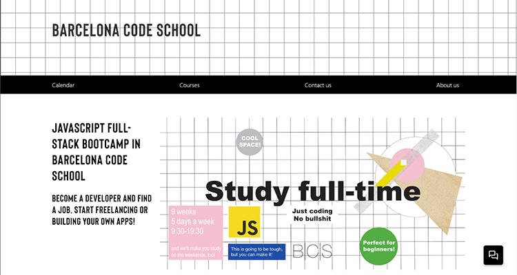 In-class app development course - Barcelona Code School