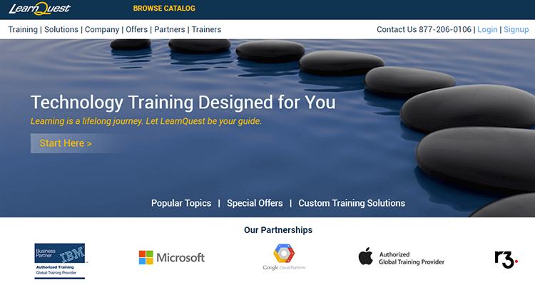 In-class app development course - Learn Quest