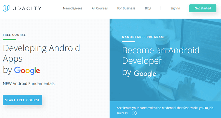 Online app development course - Udacity