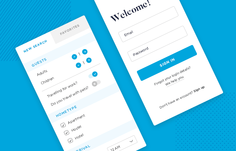 post on app form design for great UX