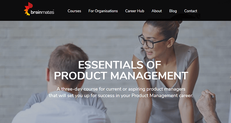 In-class product management course - Australia / New Zealand
