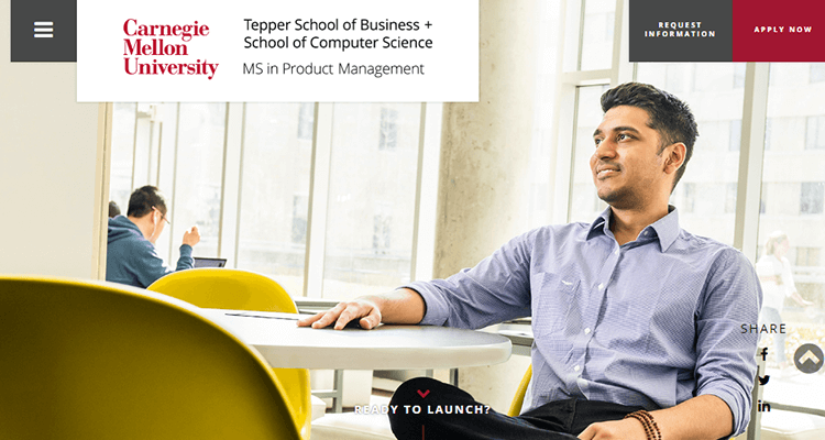 In-class product management course - Carnegie Mellon, US