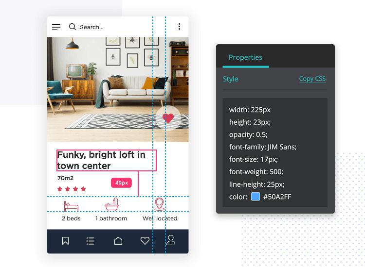 Create interactive Sketch mockups with Justinmind-Sketch integration - smooth designer-developer hand-off