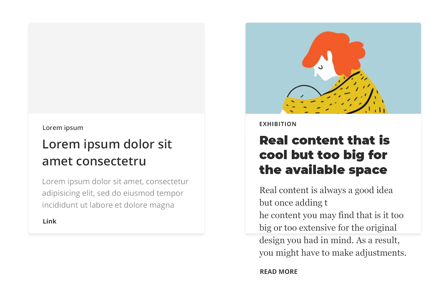 using lorem ipsum in wireframe design can lead to the need to make adjustments later on