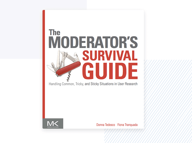 moderator survival guide - design thinking book cover
