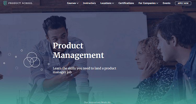 In-class product management course - Product School, Europe
