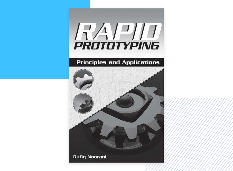 book cover - rapid prototyping as design thinking book