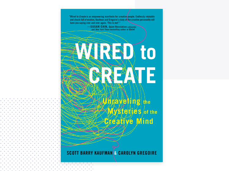 cover of wired to create - ideation for design thinking book