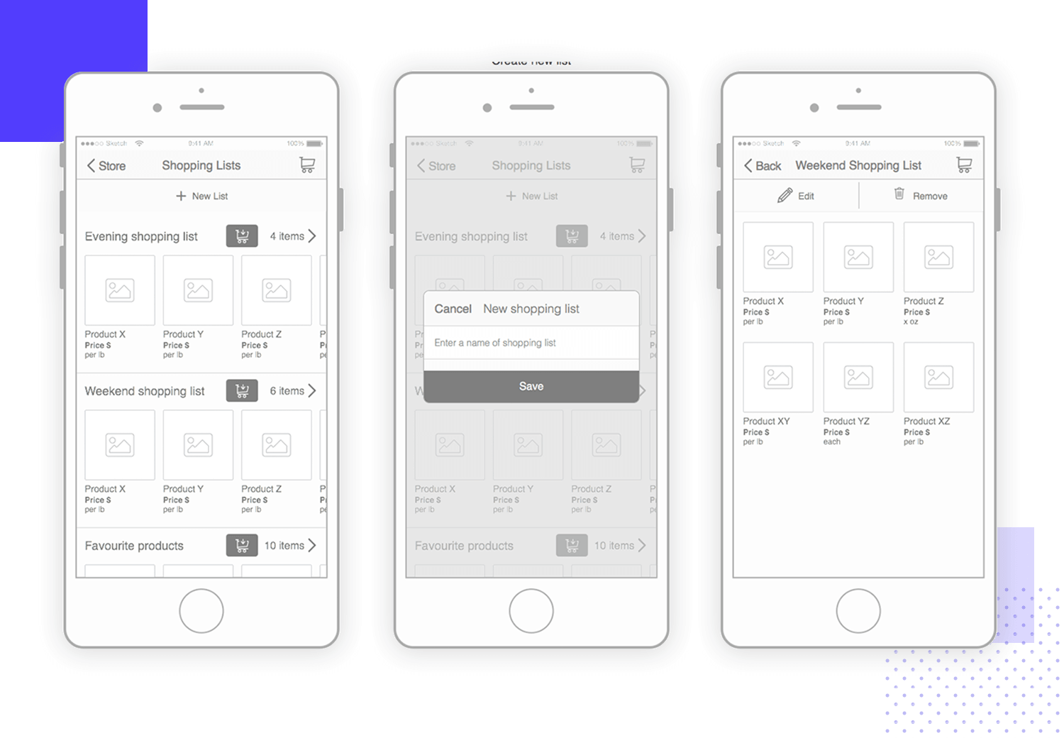 20 wireframe examples for web & mobile design inspiration - Justinmind