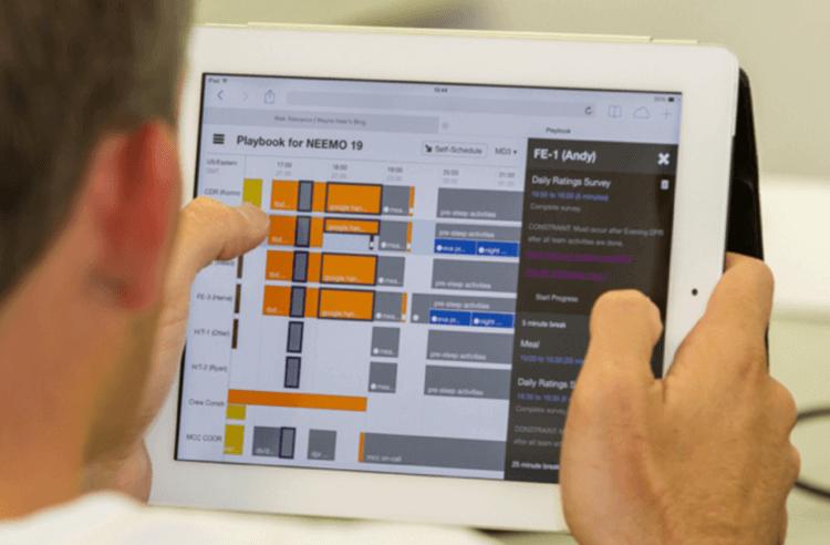 UX design at NASA - Playbook app
