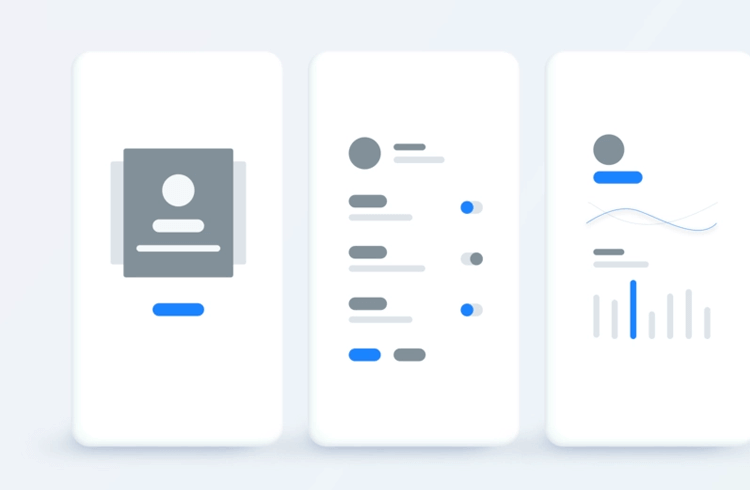 app wireframe template for onboarding